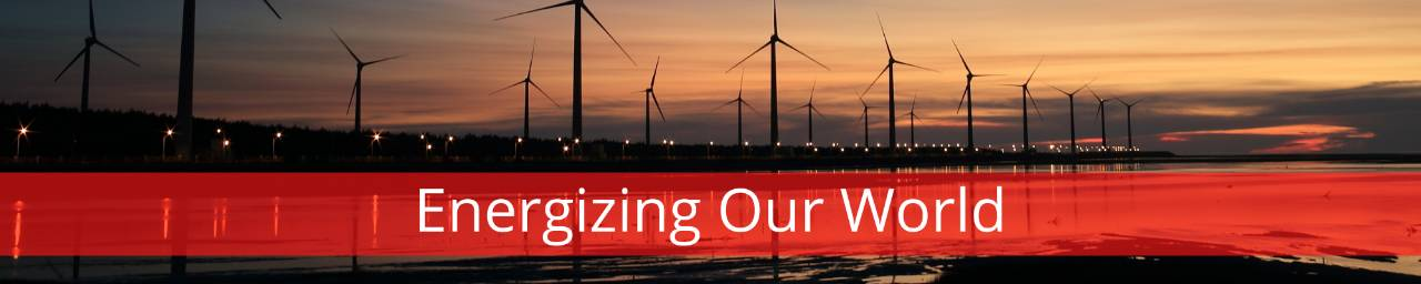 Energizing Our World Windmill Background